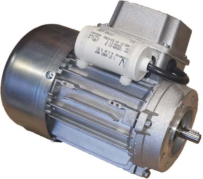 Einphasen-Wechselstrom-Asynchron-Motoren