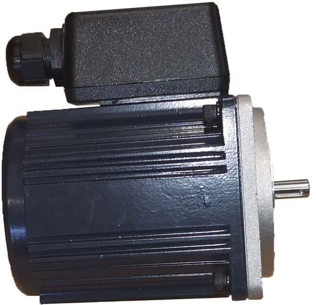 Einphasen-Wechselstrom-Asynchron-Motoren – glattes Gehäuse